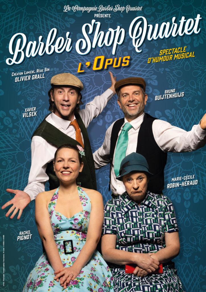 Affiche Opus Barber Shop Quartet