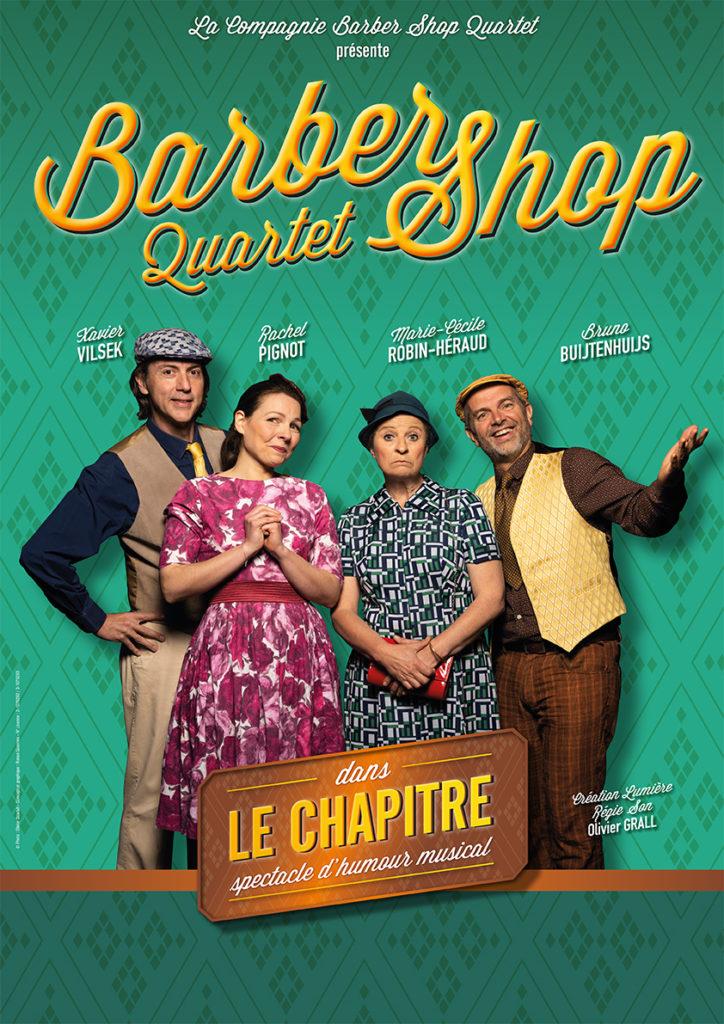 Affiche Le Chapitre Barber Shop Quartet